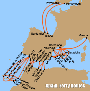Ferries-to-Spain